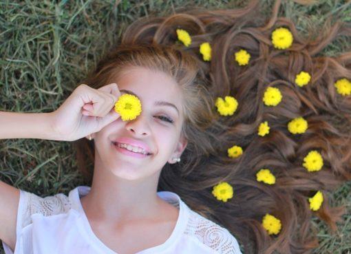 Sourire adolescent